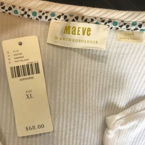 Anthropologie Sweaters - Anthro Maeve lightweight button  cardigan NWOT
